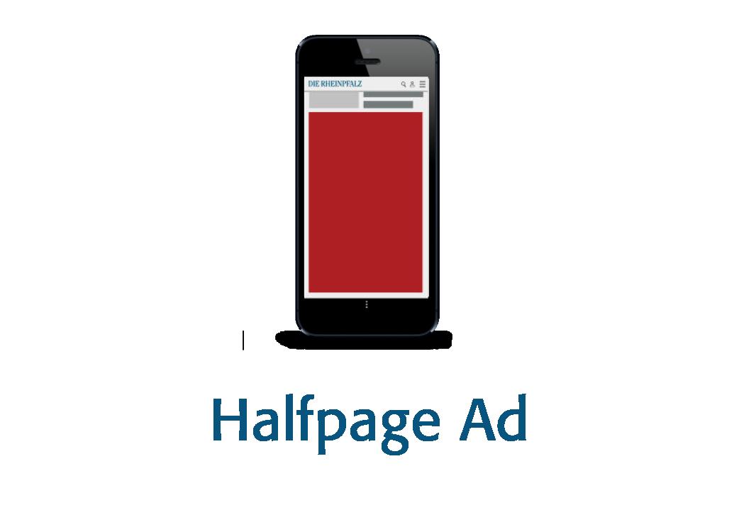 Banner Smartphone Halfpage Ad