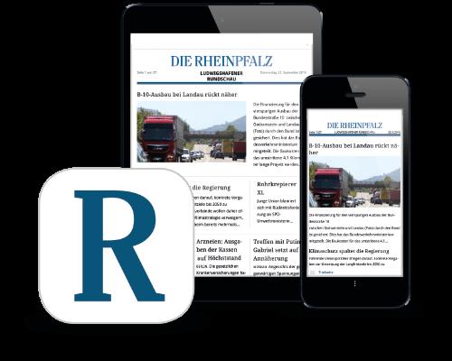RHEINPFALZ-App Collage