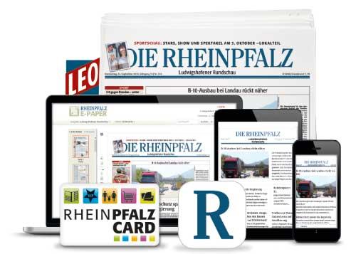 RHEINPFALZ Produktpalette