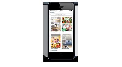 Digitale Prospekte - Smartphone Prospektübersicht